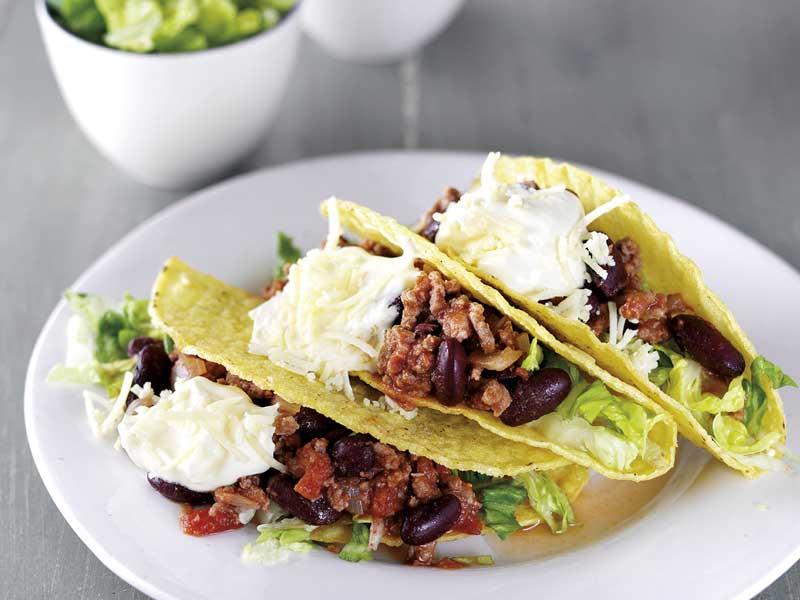 Dairy Diary Favourites tacos