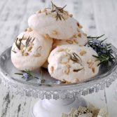 Lemon Rosemary Meringues