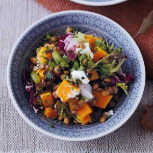 Autumn recipes - Autumn Super Salad