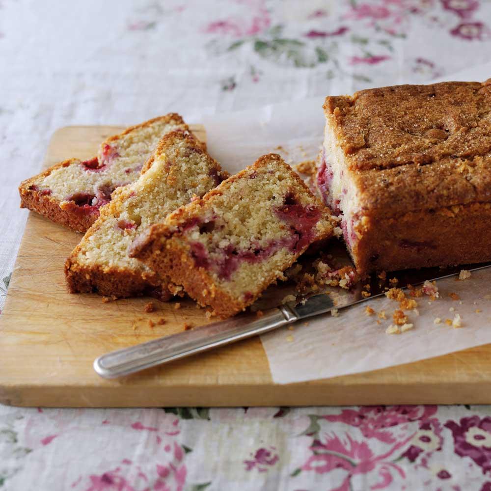 Raspberry & Macadamia Cake