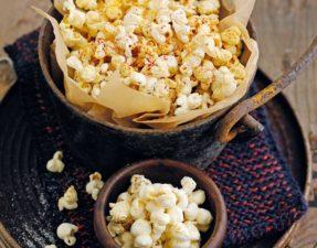 Trick or treat popcorn