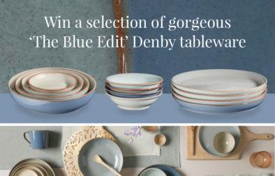 Win Denby Blue Edit tableware