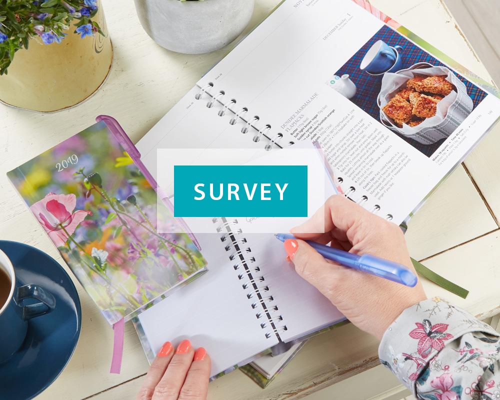Dairy Diary Set survey