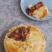 Pork & Prune Pie