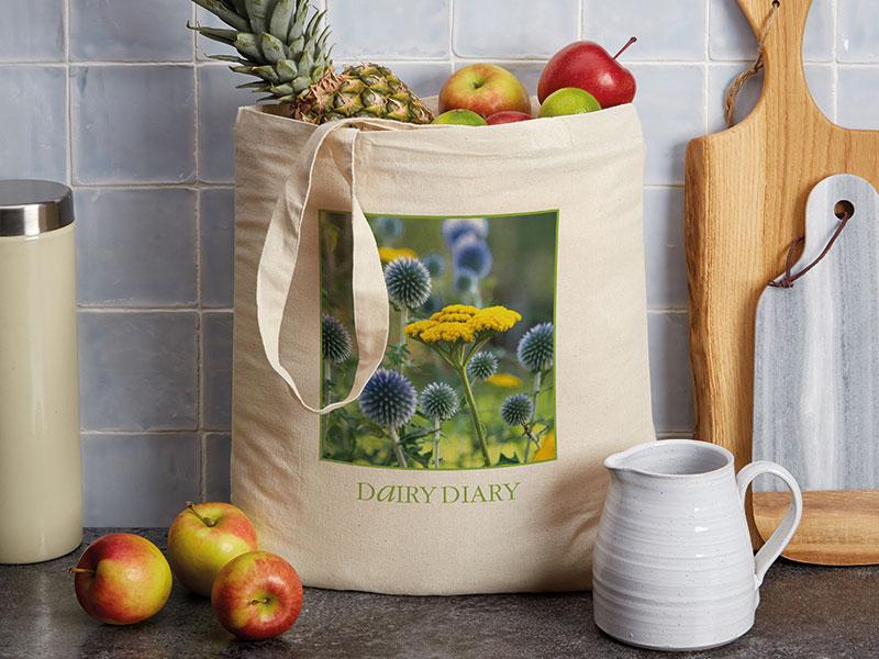 Dairy Diary Shopping Bag