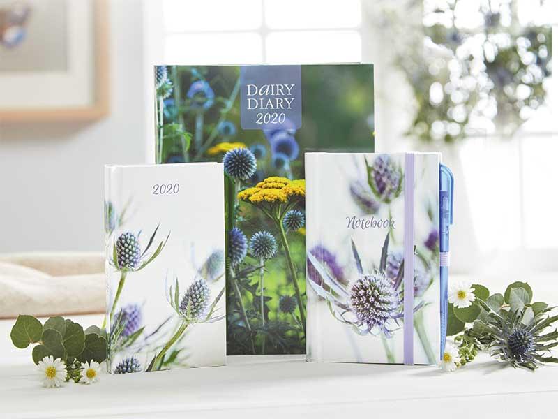 Dairy Diary 2020, Pocket Diary & Notebook Set