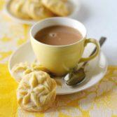 Lemon Swirl Biscuits