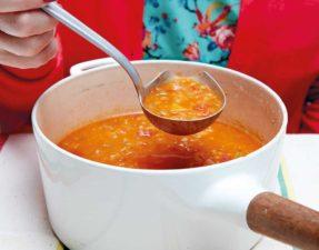 Smoky Tomato & Red Lentil Soup