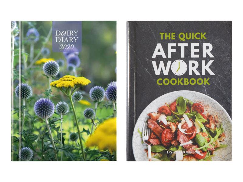 Dairy Diary & Cookbook bundle