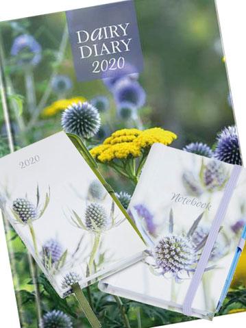 Dairy Diary Set 2020