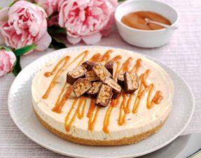 No-bake Nutty Chocolate Cheesecake