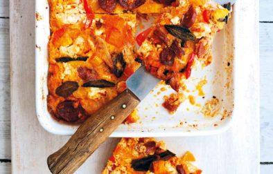 Pumpkin, Chorizo & Sage Frittata