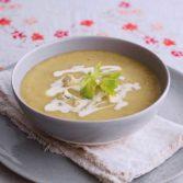 Celery, Stilton & Pear Soup