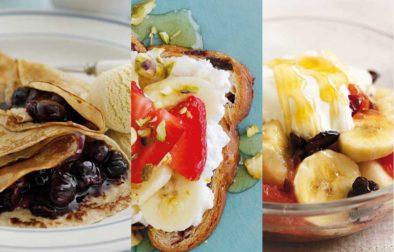 Festive breakfasts