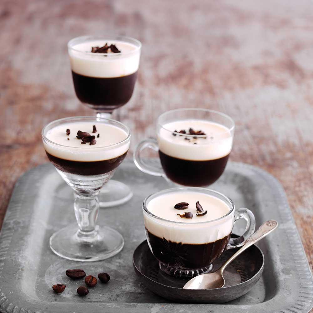 Whisky Mac Coffee Jelly Shots