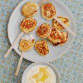 Lemon & White Chocolate Pancake Pops
