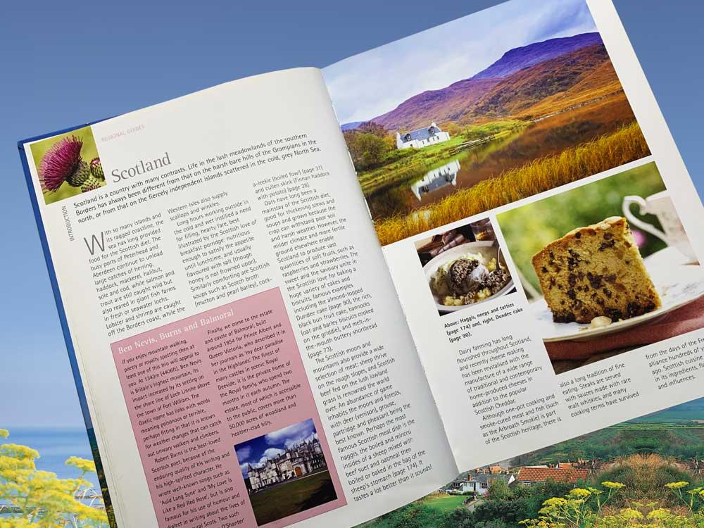 Around Britain regional food guides