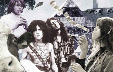 The first Glastonbury Festival