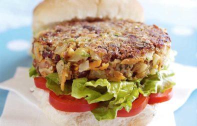 Hazelnut Veggie Burgers