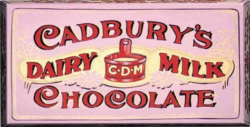 Cadbury's Dairy Milk 1905