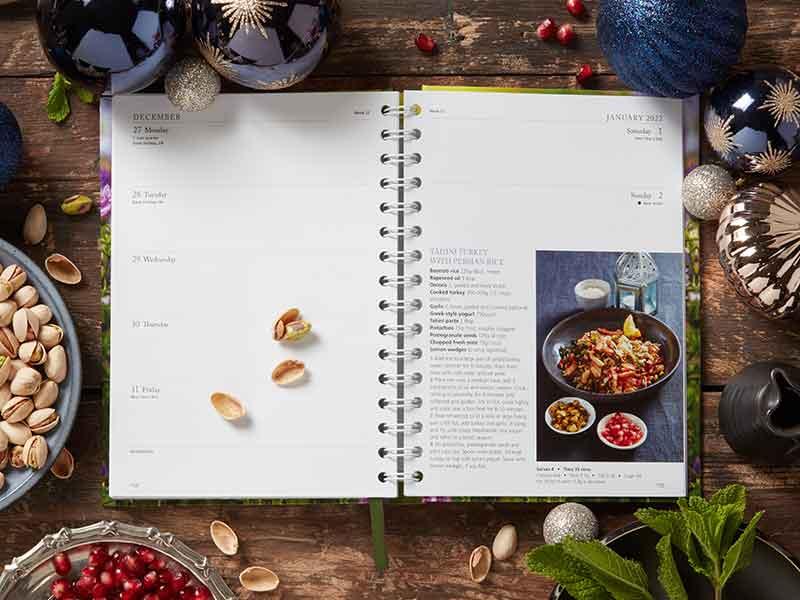 Tahini Turkey recipe from Dairy Diary 2021