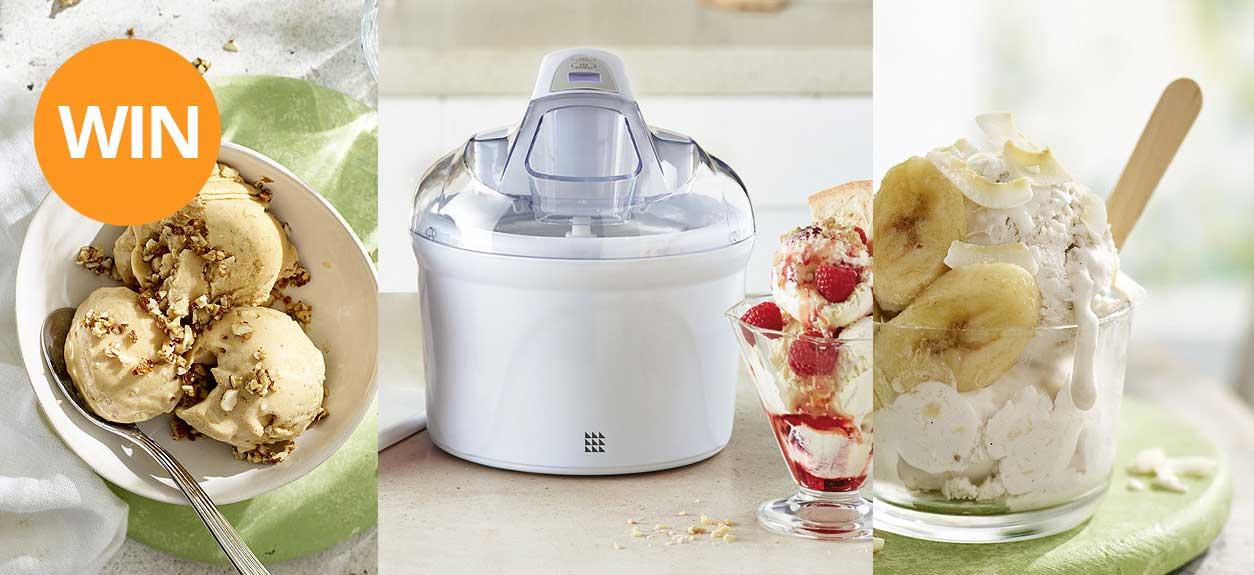 Win a digital ice cream maker