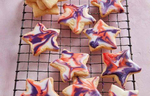 Galaxy Star Biscuits