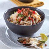 Indonesian-Style Pork Noodle Salad