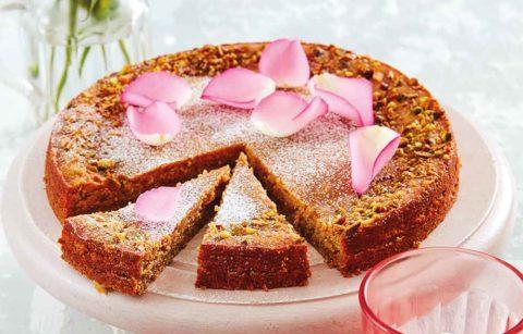 Pistachio & Rose Cake