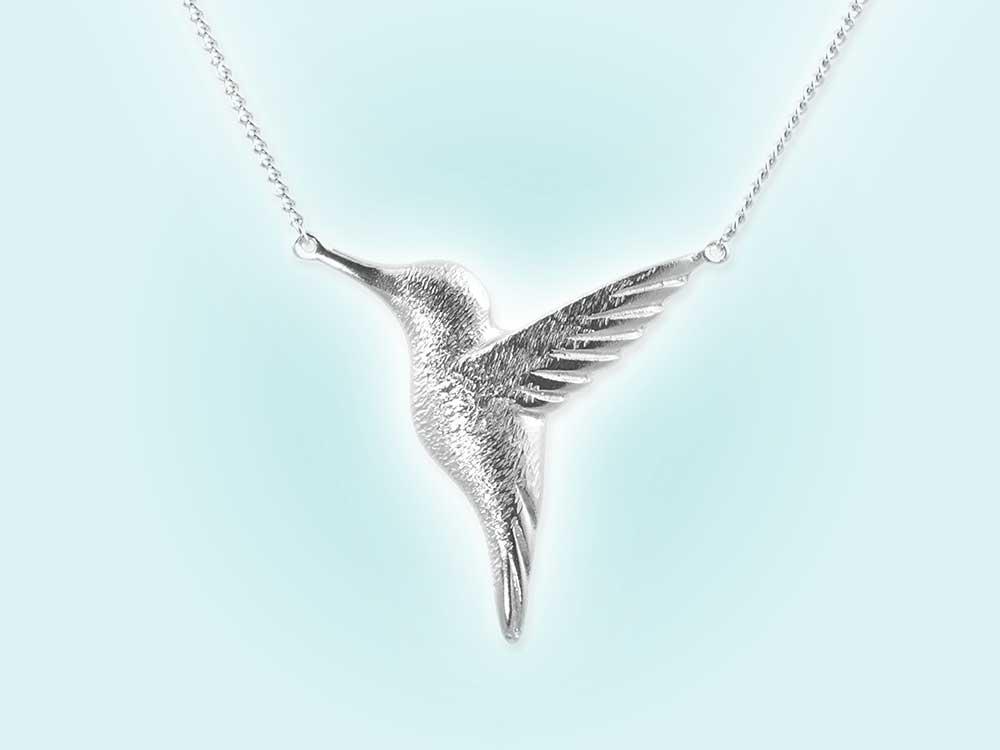 Win a hummingbird necklace, worth £95, by Jana Reinhardt jewellery