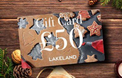 Win a £50 Lakeland Christmas Gift Card