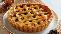 Mince Pie Linzer Torte