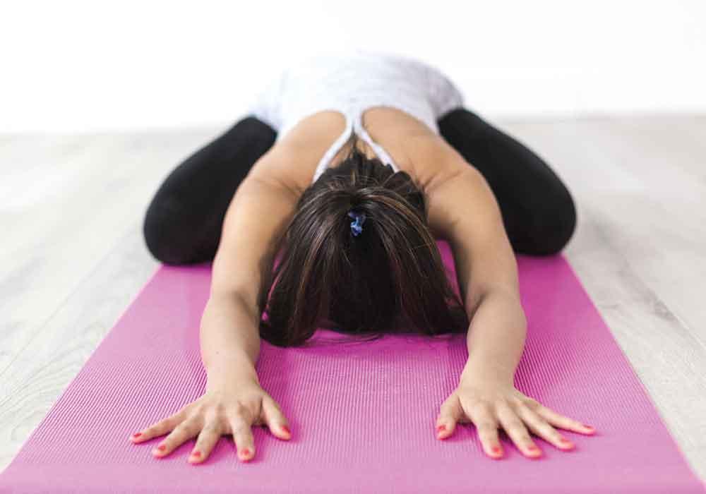 Yoga for positivity
