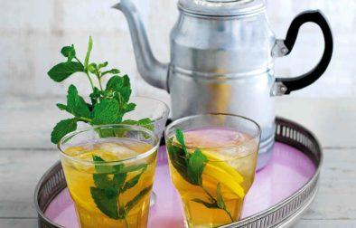 Elderflower and Mint Iced Tea