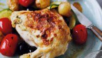 Chicken Stuffed with Tarragon & Cheese