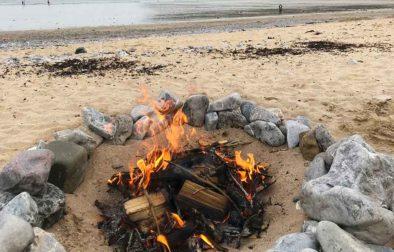 8 tips for a safe beach campfire