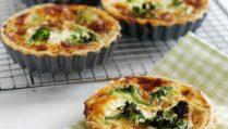 Broccoli & Stilton Quiches