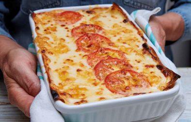 Chicken & Chorizo Lasagne Grill