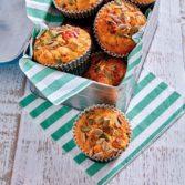 Feta, Olive & Tomato Muffins