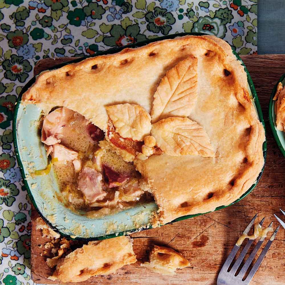 Chicken-and-Ham-Pies