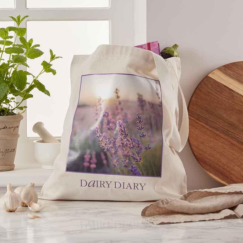 Dairy Diary Tote Bag