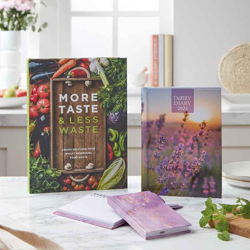 Dairy Diary Set & Cookbook bundle