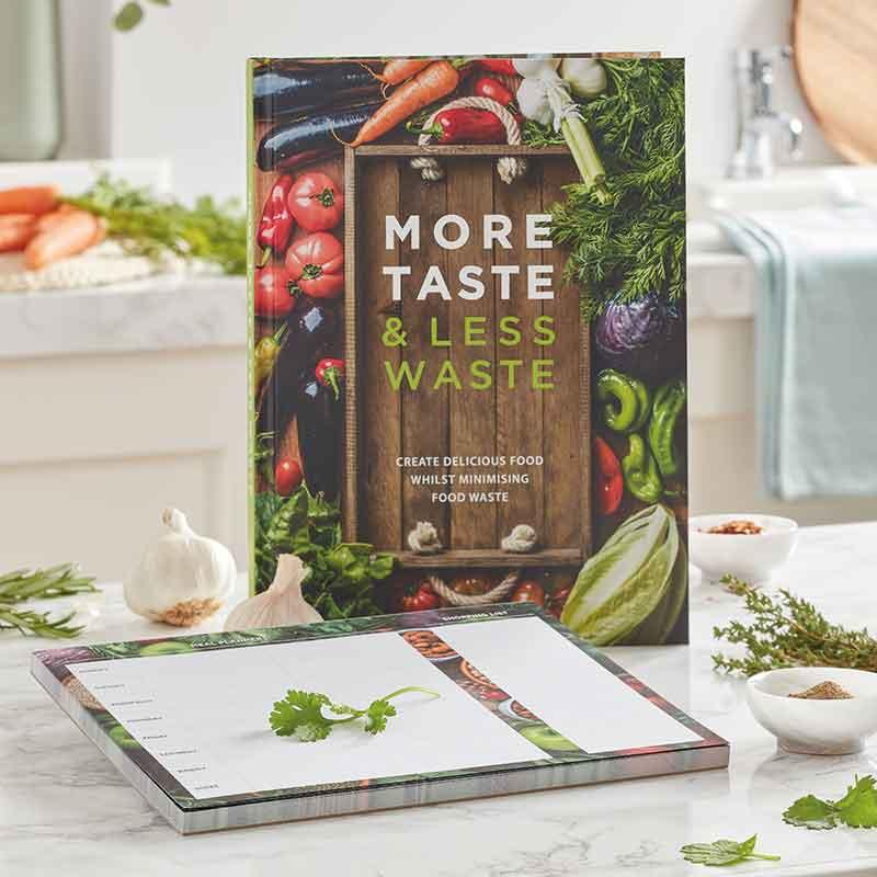 Cookbook & Meal Planner Pad bundle