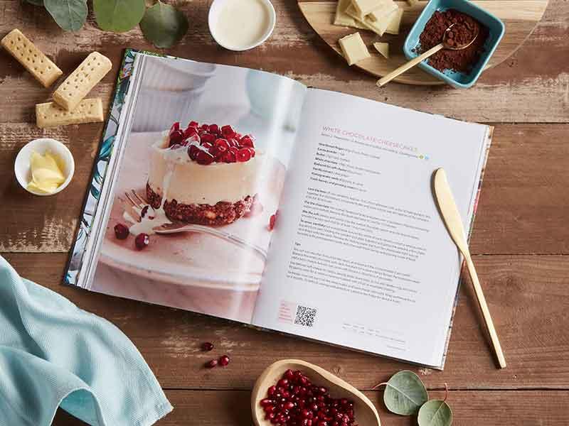 More Taste & Less Waste cheesecake