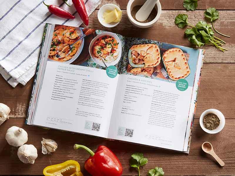 More Taste & less Waste cookbook chicken recipes