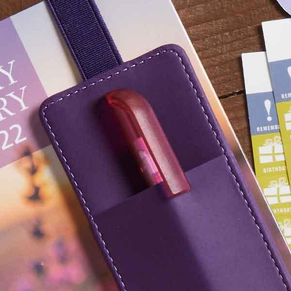 Dairy Diary Pen Pocket