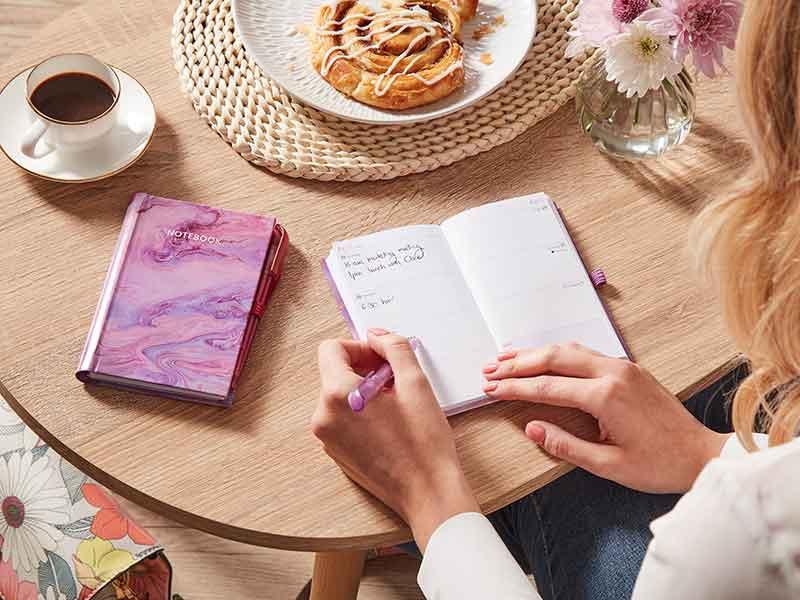 Pocket Diary & Notebook Set