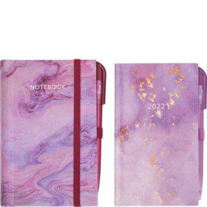Pocket Diary & Notebook Set 2022